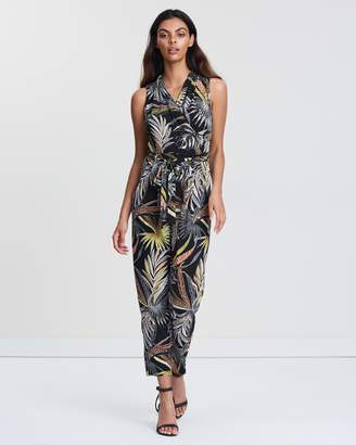 Wallis Petite Palm Jumpsuit