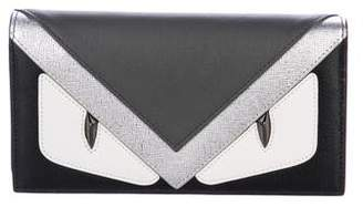 Fendi Monster Continental Wallet
