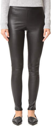 Theory Adbelle Leather Pants $995 thestylecure.com