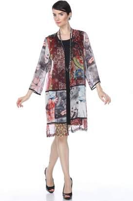 Aris A Ethnic Patchwork Jacket