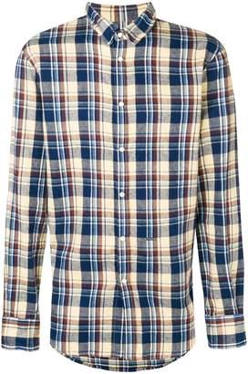 DSQUARED2 check long-sleeve shirt