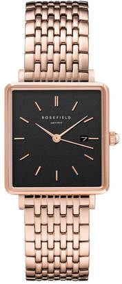 Rosegold QBSR-Q19 The Boxy Black Steel