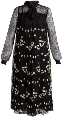 Giambattista Valli Floral cotton-blend lace dress