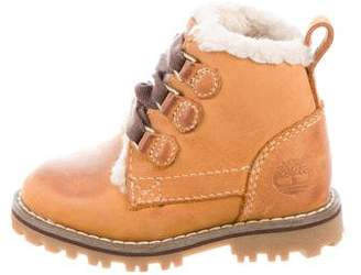 Timberland Boys' Classic Ankle Boots