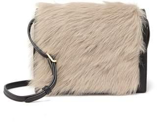 FLYNN Phoebe Genuine Lamp Fur Crossbody