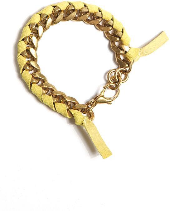 Lulu Frost Fabric Chain Bracelet