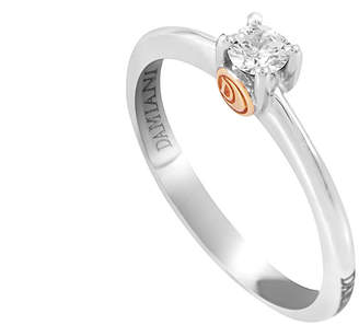 Damiani 18K Two-Tone 0.20 Ct. Tw. Diamond Ring