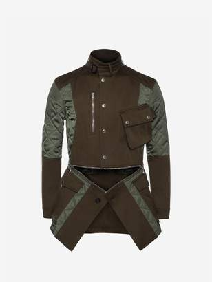 Alexander McQueen Deconstructed Field Jacket