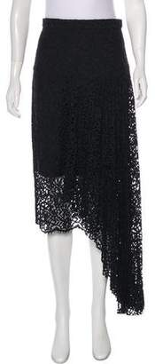 Milly Asymmetrical Lace Skirt w/ Tags