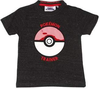 Pokemon Print Cotton Jersey T-Shirt