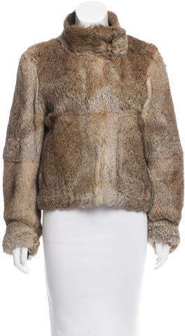 JOSEPHJoseph Rabbit Fur Jacket