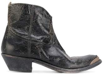 Golden Goose Young distressed boots