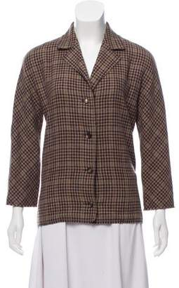 Lanvin Wool & Cashmere Blazer