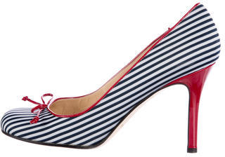 Kate Spade Kate Spade New York Striped Round-Toe Pumps