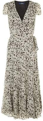 Polo Ralph Lauren Wrap Floral Dress