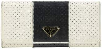 Prada White Leather Purses, wallets & cases