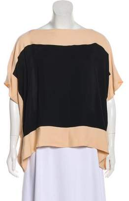 Christian Dior Silk Oversize Blouse