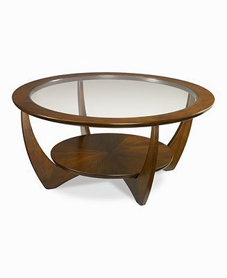 Simply Modern Glass Coffee Table