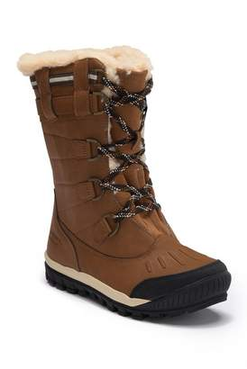 BearPaw Desdemona Genuine Sheepskin Lined Lace-Up Boot (Women)