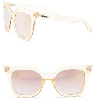 Quay Harper 44mm Cat Eye Sunglasses