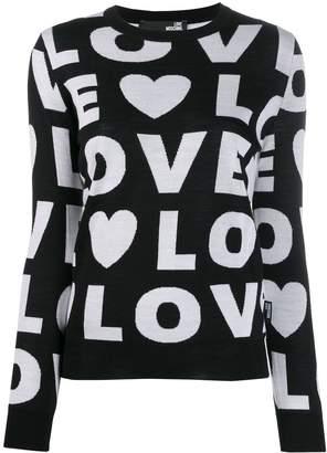 Love Moschino Love jumper
