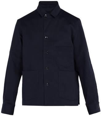 Acne Studios Media cotton-twill blazer