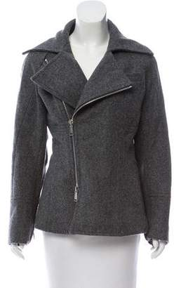 DSQUARED2 Wool Zip-Up Jacket
