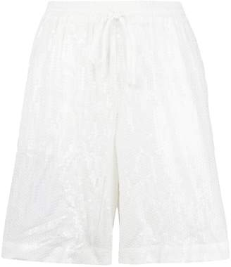 P.A.R.O.S.H. drawstring fitted shorts