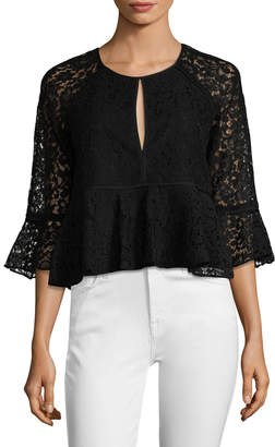LIKELY Avers Lace Top
