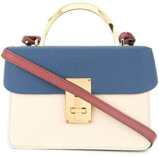 The Volon colour-block tote