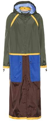 Marni Reversible hooded raincoat
