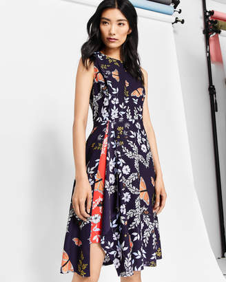 Ted Baker JENNESA Kyoto Gardens asymmetric dress