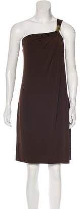 MICHAEL Michael Kors One-Shoulder Cocktail Dress