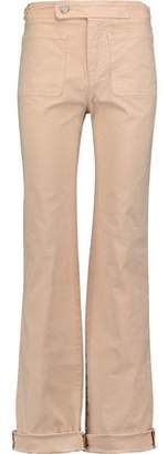 See by Chloe Cotton-Blend Bootcut Pants