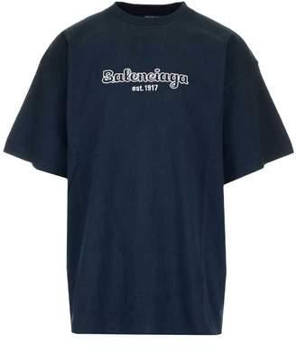 Balenciaga Embroidered Logo T-Shirt