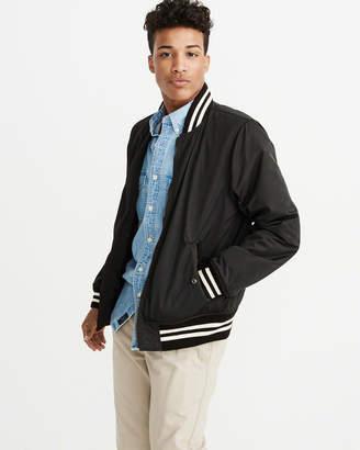 Abercrombie & Fitch Varsity Bomber Jacket