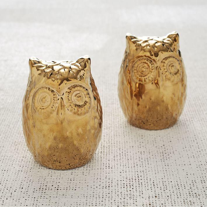 west elm Owl Salt Pepper Shakers
