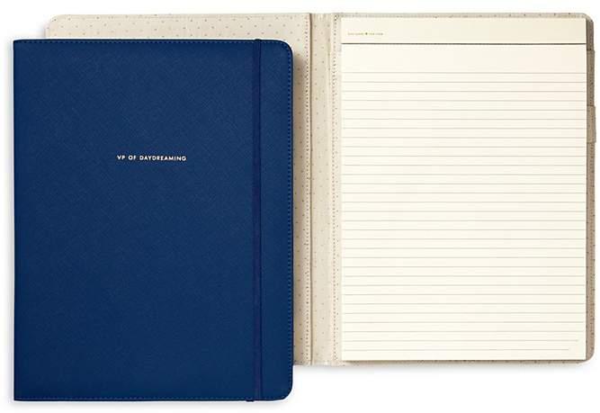 kate spade new york Notepad Folio, VP of Daydreaming