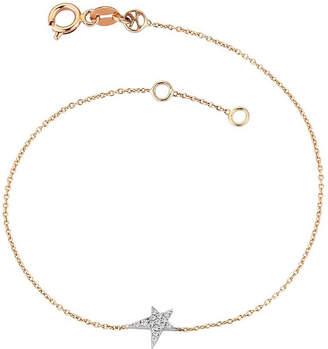 Rosegold The Alkemistry Kismet by Milka Star Struck 14ct rose-gold and diamond bracelet