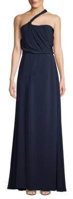 Carolina Herrera Sleeveless Silk Evening Gown