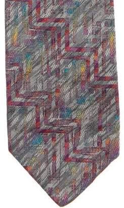 Missoni Silk Jacquard Tie