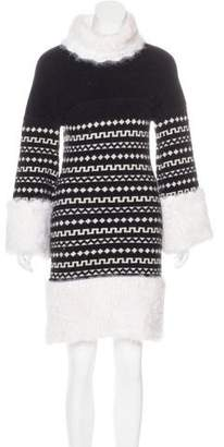 Chanel Knit Turtleneck Dress