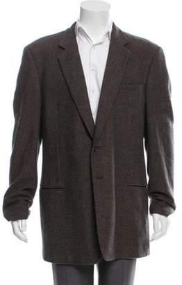 Giorgio Armani Wool & Cashmere-Blend Blazer black Wool & Cashmere-Blend Blazer