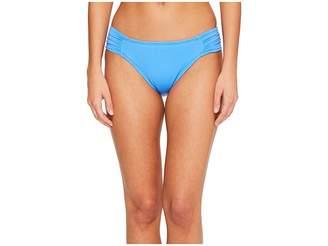 LaBlanca La Blanca Island Goddess Side Shirred Hipster Bottom Women's Swimwear