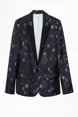 Zadig & Voltaire Victor Jac Tatoo Jacket