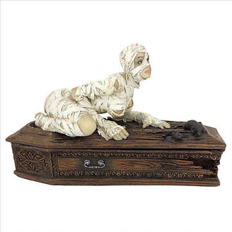 Toscano Design Curse of the Mummys Coffin Figurine