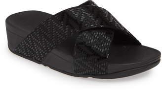 a29bd3af7 FitFlop Lulu Chevron Slide Sandal