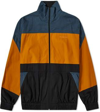 Balenciaga Poplin Check Retro Panel Wind Jacket