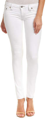 True Religion White Skinny Leg