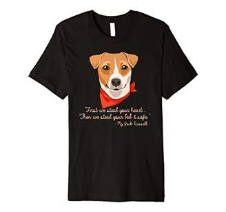 Cute Jack Russell Lover Steal Heart Bed And Sofa T-shirt